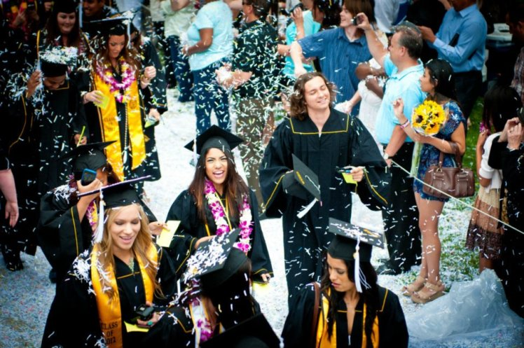 CSULB Class of 2012. Photograph taken by Ken Soleta aka DJ KSole.